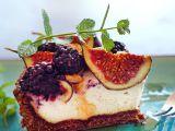 Fíkovo-ostružinový podzimní koláč recept