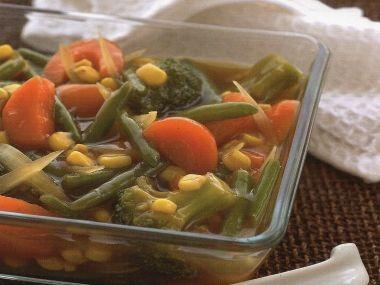 Čínská zelenina se zázvorem