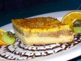 Jablečný koláč se zálivkou ze zakysané smetany recept ...