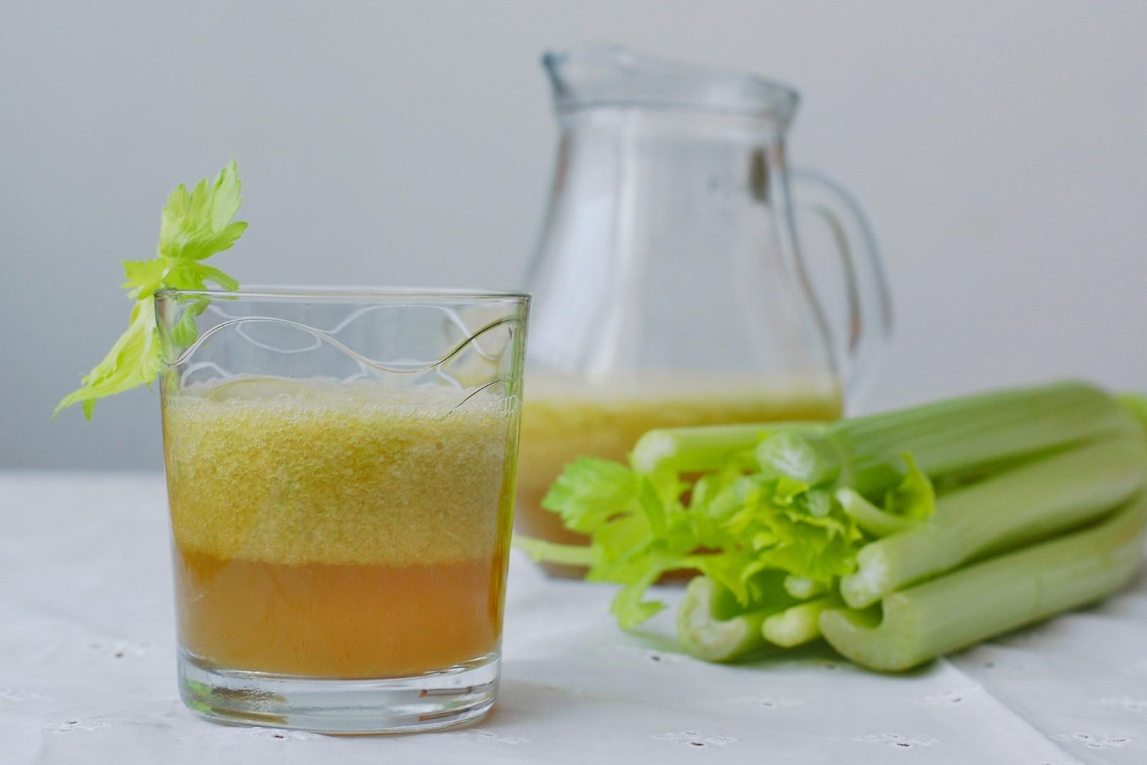Jablečno-celerové smoothie recept