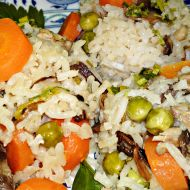 Ludaskása  kaše z rýže a husích drobů recept