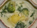 Brokolicovo  bramborová polévka recept