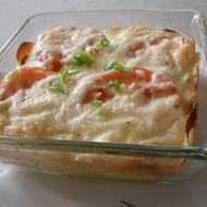 Tuňák zapečený s rajčaty a sýrem recept