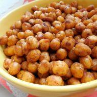 Pikantní pečená cizrna recept