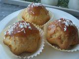 Vanilkové muffiny s jahodovou polevou recept