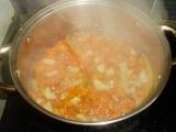 Rychlá polévka z mrkve a křenu recept