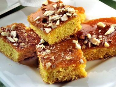 Řecký pomerančový koláč.