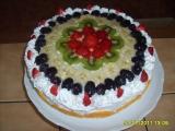 Jednoduchý šlehačkový dort recept