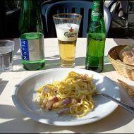 Pikantní špagety se sýrem recept