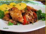 Kuřecí kousky se směsí z restované zeleniny recept