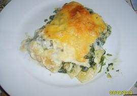 Špenátové lasagne recept