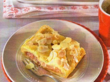 Překládaný jablečný koláč