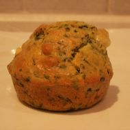 Špenátovo-sýrové muffiny recept