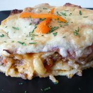 Masové lasagne se sýrovo-smetanovou omáčkou recept