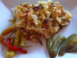 Zapečené těstoviny s uzeným a zeleninou recept