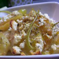 Vegetariánské zapékané brambory recept
