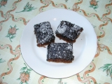 Čokoládové řezy s kokosem recept