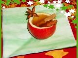 Vánoční drink pohoda v jablečném pohárku recept