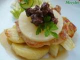 Kuřecí plátek s ananasem a játry recept