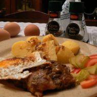 Vepřový plátek s vejci recept