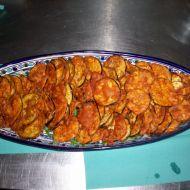 Batenžánové chipsy recept