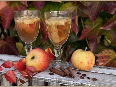 Jablečný čaj pro nejmenší