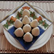 Vosí hnízda s kokosem recept