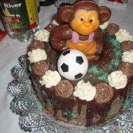 Čokoládovo-ořechový dort recept
