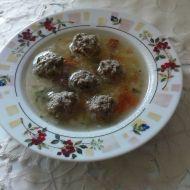 Polévka s mletým masem a zeleninou recept