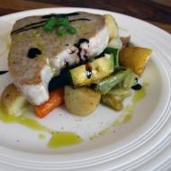 Steak z tuňáka recept