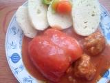 Papriky plněné masem a pohankou recept