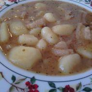 Dršťková polévka s uzenou slaninou recept