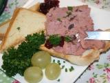 Domácí paštika s griotkou a brusinkami recept
