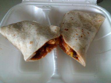 Mexická tortila s kuřecím masem