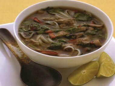 Vietnamská hovězí polévka