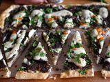 Pizza s houbami a kešu krémem recept