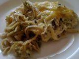 Zapečené špagety s brokolicí a Hermelínem recept