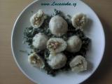 Bramborové knedlíky plněné Fetou recept