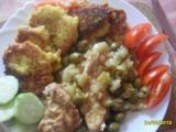 Kuřecí prsa na řapíkatém celeru s olivani recept