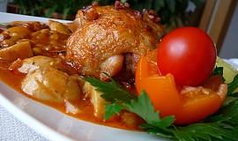 Kuře na burských oříšcích v hořčičné omáčce recept