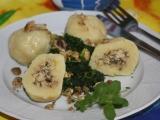 Hlívová náplň do bramborových knedlíků recept
