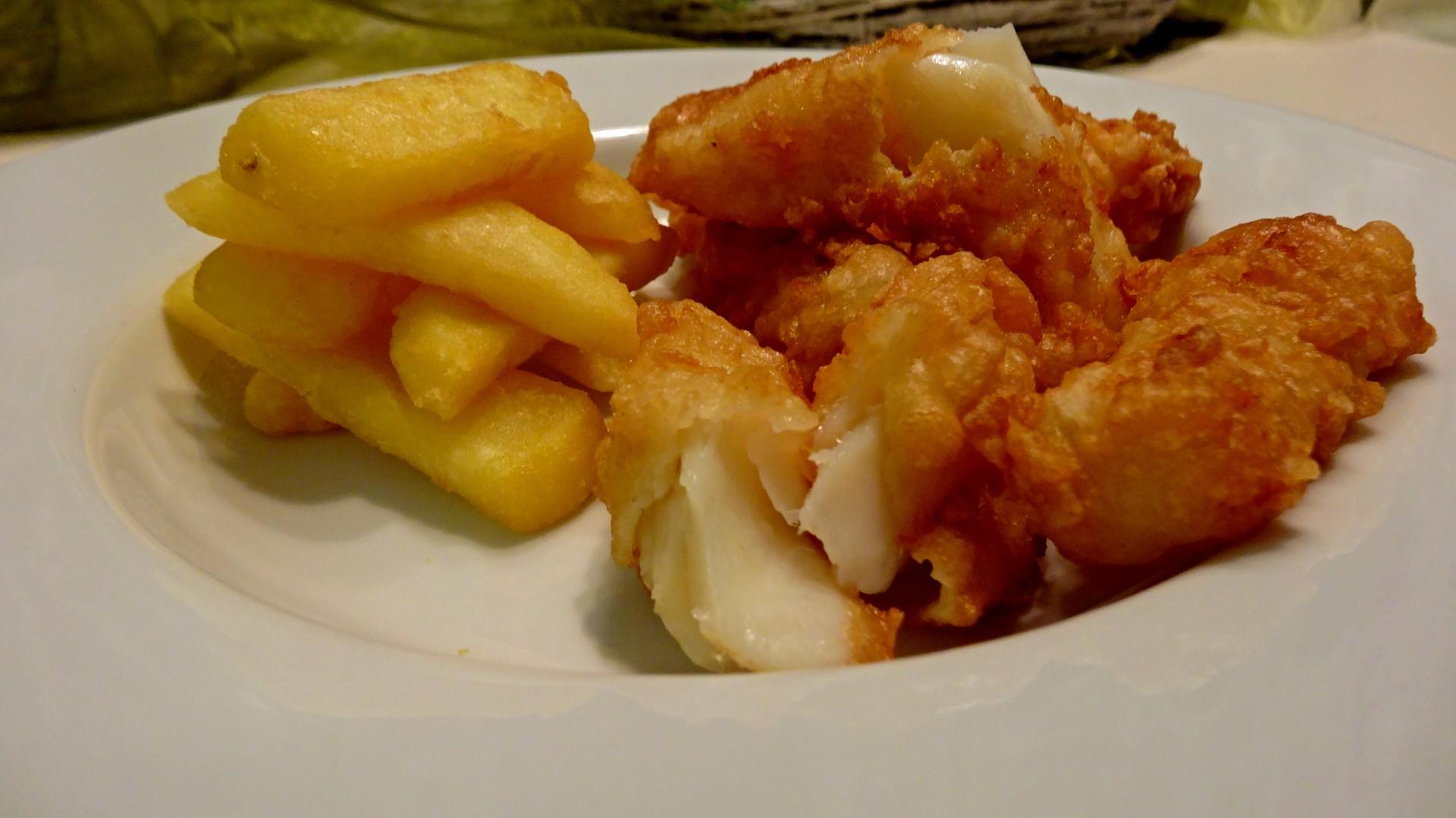 Fish & Chips ze sušené portugalské tresky recept