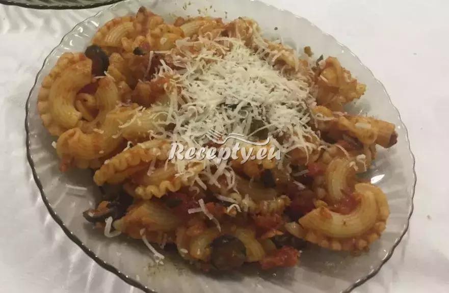 Kolínka s Italskou omáčkou recept  těstoviny
