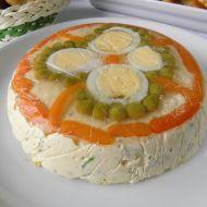 Velikonoční vaječná tlačenka s pažitkou recept