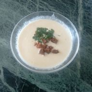 Krémová česnečka recept