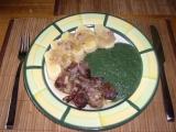 Jarní kopřivový špenát recept