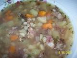 Kroupová polévka od Babici recept