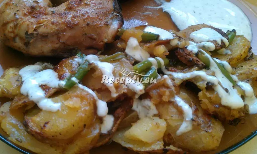 Opékané brambory s fazolkami recept  bramborové pokrmy ...