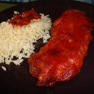 Pikantní červené kuře recept