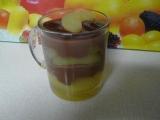 Čokoládový puding s dušenými jablky recept